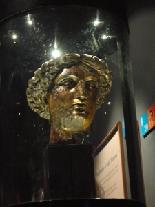 The temple of the Roman Baths was dedicated to Sulis Minerva - a combination of Roman and Celtic gods.